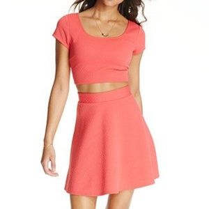 Trixxi Skirt and Crop top set